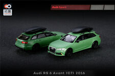 XCarToys 1:64 Audi RS 6 Avant C7 2016 Green/White/Camouflage Diecast Model Car