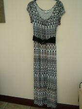 Petite Short Sleeve Casual Maxi Dresses for Women