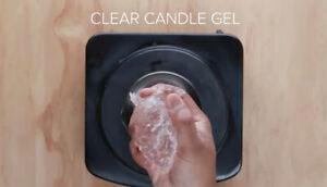 High/medium Density Clear Gel Candle Wax 5 Pounds