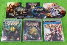 ps3 BIOSHOCK x3 TRILOGY / Collection 1 + 2 + Infinite REGION FREE PAL UK