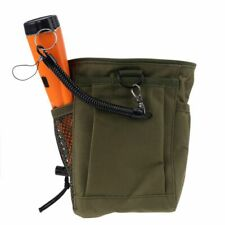 Metal Detector Bag Pouch Waist Detecting Luck Digger Supply Finds Recovery Bag