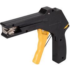 Brand New Silverline Cable Tie Gun Adjustable Tension Tightens Flush Cuts Fasten