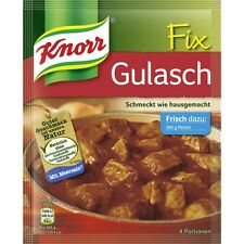 4 Bags  x KNORR Fix (Goulash) **The Original**