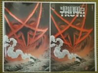 DEPARTMENT OF TRUTH 4 EXCLUSIVE VARIANT TRADE & VIRGIN FOIL SET NM+ HTF 1