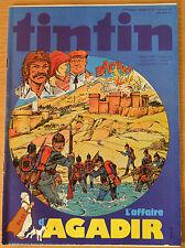 BD Comics Magazine Hebdo Journal Tintin No 42 34e 1979 L'affaire d'Agadir