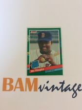 Mo Vaughn RC 1991 Donruss Rookie Baseball Card Boston Red Sox MLB ⚾️