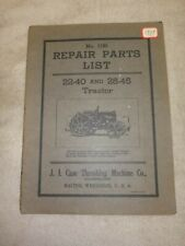 J I Case 22 45 And 22 40 Repair Parts Manual Cross Motor Antique Gas Tractor