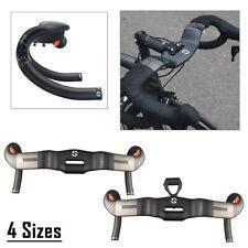 TOSEEK Carbon Fiber Riser Handlebar Road Bike Racing Drop Bar Handlebars 31.8mm