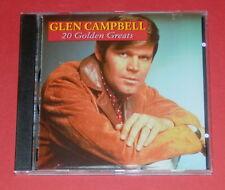 Glen Campbell - 20 Golden Greats -- CD / Country