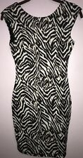 H&M Women's Girls Leopard Evening Night Classy Cocktail Casual Dress Bodycon