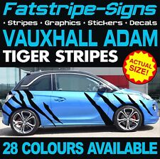 VAUXHALL ADAM TIGER STRIPES GRAPHICS STICKERS DECALS 1.2 1.4 OPEL TURBO ROCKS