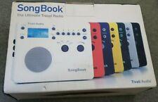 BOXED Blue Tivoli Audio SongBook AM/FM Radio Alarm Clock