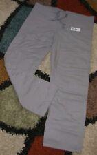 GelScrubs Unisex Drawstring Scrub Pant W/ Back Pocket Gray Style 6558 Small