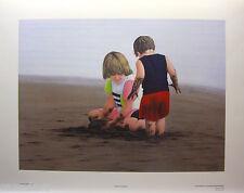 "GLENN OLSON ""BEACH BUMMERS"" Mint LTD art print Certificate SEA COAST SAND SUN"