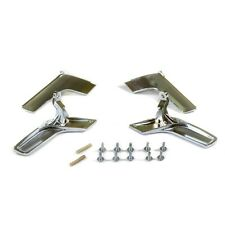 MERCEDES W204 INTERIOR DOOR HANDLE CHROME LEFT AND RIGHT SIDE TOGETHER