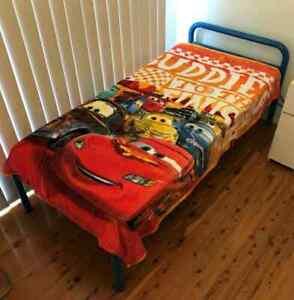 Single All season Mink blanket Size 150x 200cm  - Cars Lightening McQueen