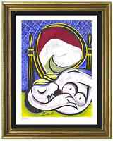 "Pablo Picasso Signed & Hand-Numbered Ltd Ed ""The Mirror"" Litho Print (unframed)"