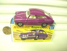 LESNEY MATCHBOX 1970 MB67A GRAPE VW VOLKSWAGEN 1600TL *C9 MINT IN CRISP MINT BX*