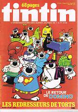 ▬► TINTIN N°50 de 1979 Le Retour de Domino - Archives Moulinsart