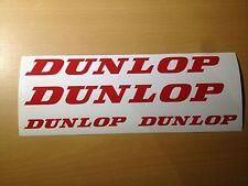 DUNLOP Aufkleber Sticker Set Reifen Tuning 18 19 20 22 23 Zoll Rennsport NEU