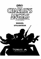 MANUEL GOTTLIEB SYST1 CHARLIE'S ANGELS EN FRANCAIS
