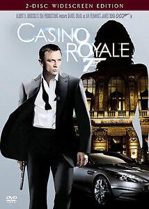 Casino Royale (DVD, 2007, 2-Disc Set, Widescreen) 007 JAMES BOND FREE SHIPPING