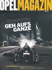 Opel Magazin 1/10 RAK2 Maria Riesch Muhammad Ali Corsa 2010 Auto PKW Deutschland