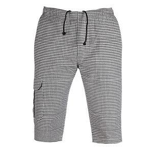 Mens 3/4 Long Length shorts Waist elasticated shorts UK 3 quarter cargo pants