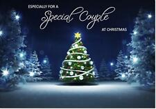 To Special Couple Christmas Card - Medium Size