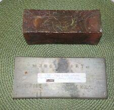New listing Fake Silver Bar and 5lb Copper Ingot Plus 2 Small Ingots.