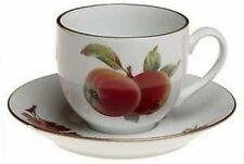 Royal Worcester Pottery Cups & Saucers