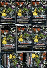 Transformers Armada trading cards set Fleer sealed pack Retired lot wholesale