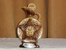 Jim Beam Old Collectible Decanter. Vintage Whiskey Bottle 1968 B.P.O.E. Elks.
