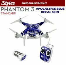 DJI Phantom 3 Standard Skin Decal Wrap - Apocalypse Blue