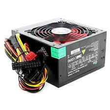 750W Black Computer PC PSU Power Supply 6 Pin PCI-E 120mm Red Cooling