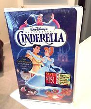 "Walt Disney Cinderella Masterpiece ~~OOP~~ ""Limited Edition"" VHS (Brand New)"