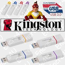 Clé USB 3.0 KINGSTON : 4 8 16 32 64 Go Gb Giga DataTraveler G4 ( avec capuchon )
