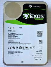 Seagate 12TB EXOS X12 Enterprise SAS SED ST12000NM0037 Encrypted 3 Year Warranty