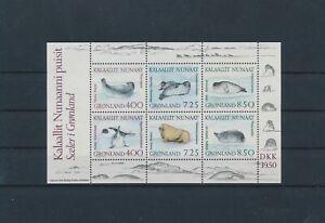 LO29746 Greenland polar animals wildlife good sheet MNH