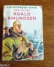 Bibliothèque verte ROALD AMUNDSEN Biographie