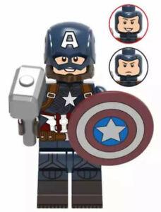 Minfigur / Figur - Captain America - Marvel Avengers - NEU&OVP - Lego kompatibel