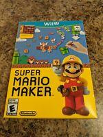 Super Mario Maker Wii U Bundle NEW SEALED Nintendo W/ Idea Book!
