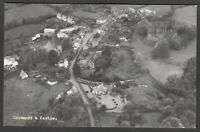 Postcard Grosmont nr Abergavenny Monmouthshire aerial view Village and Castle RP