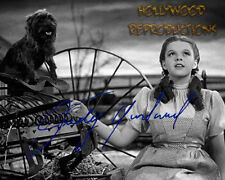 REPRINT - JUDY GARLAND Autographed signed photo 8x10 WIZARD OF OZ