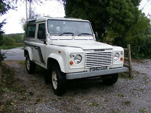 land rover 90 county defender