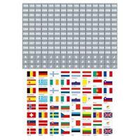 SAFE 1860 Kennzeichungs-Flaggen