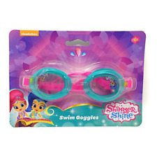 Shimmer & Shine Girls Swimming Goggles Kids Holiday Junior Summer Beach Pool 3+