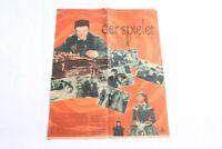 altes Filmplakat Der Spieler Kino Film Reklame Werbung vintage