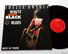 Joelle URSULL White and black blues (Serge GAINSBOURG) MAXI 45 CBS (1990) NMINT