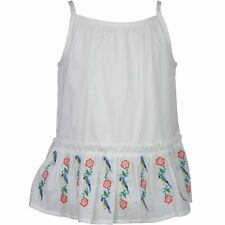 Janie And Jack Embroidered Peplum Top Playwear